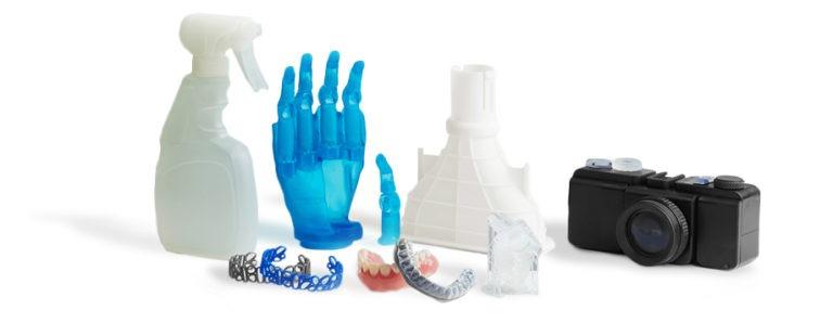 Maximize as propriedades do material com Form Cure