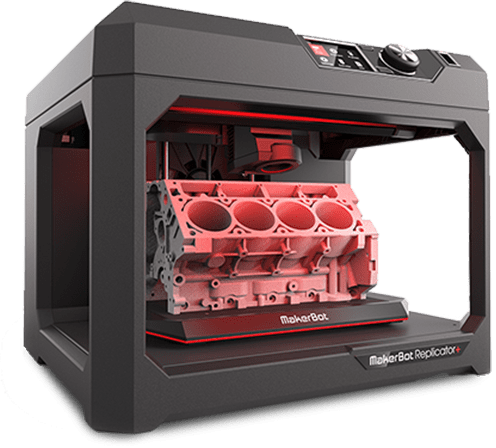 Especificações de MakerBot Replicator+