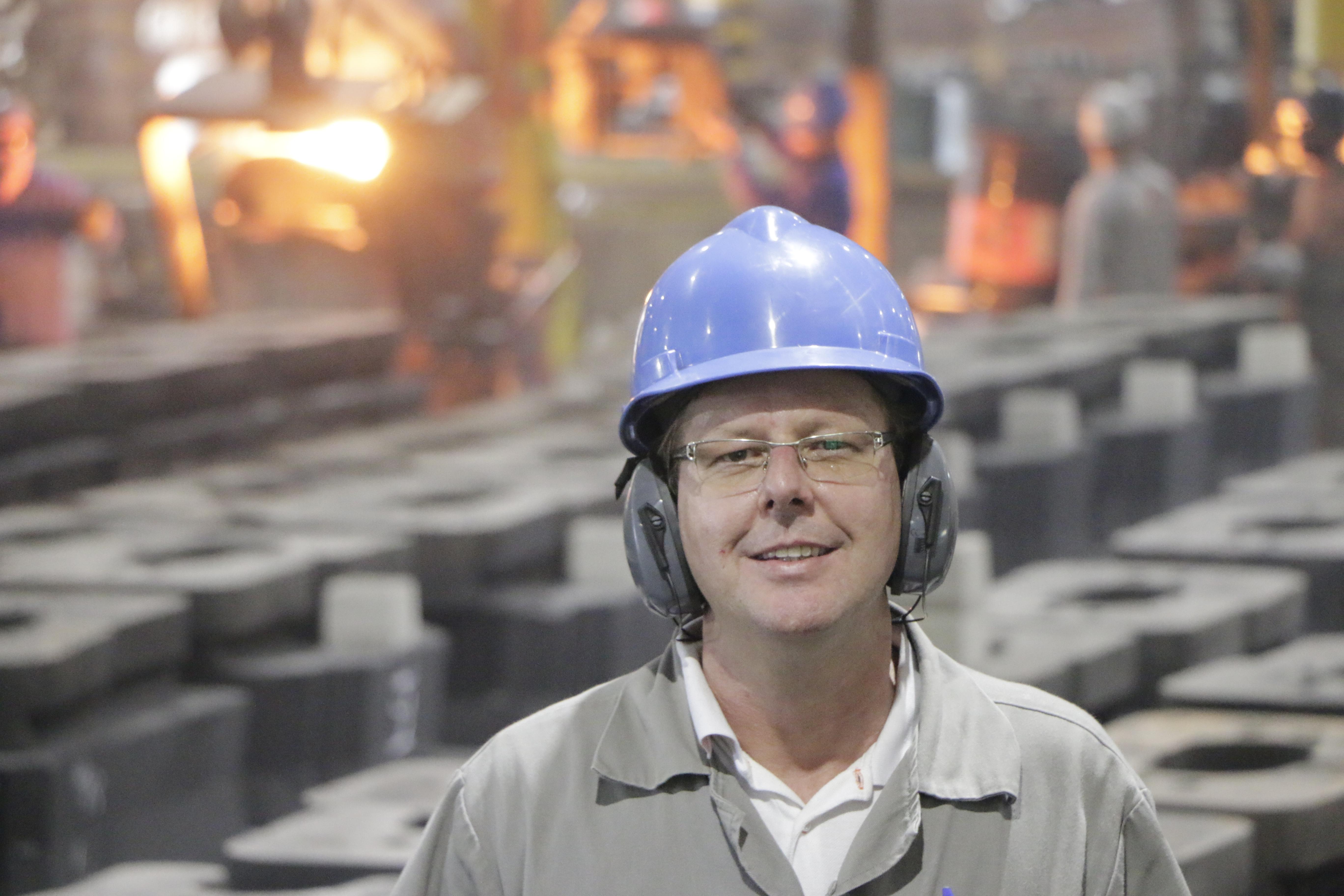 Moacir Schotten, engenheiro de produção na Riosulense