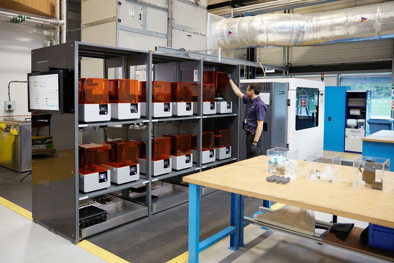 Form 2 vs Form 3 1 Impressoras 3D Formlabs