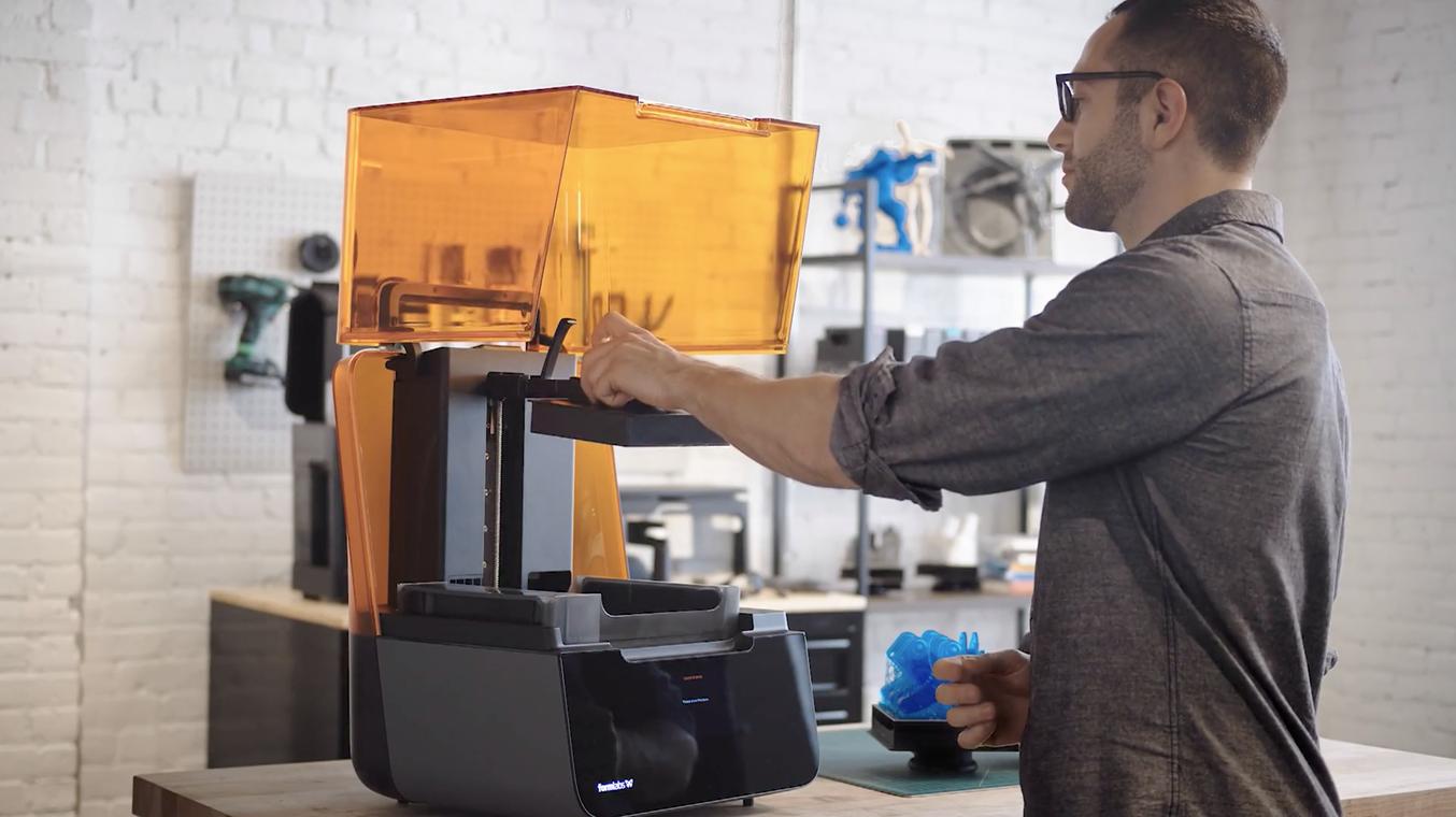 Primeiros passos com a Form 3 Impressão 3D