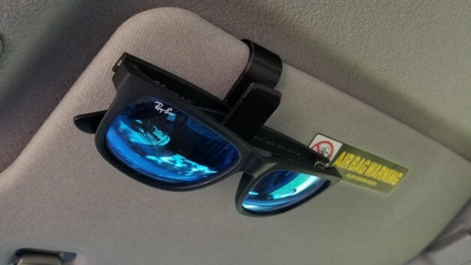 projetos legais e úteis para imprimir em 3D clip para oculos de sol