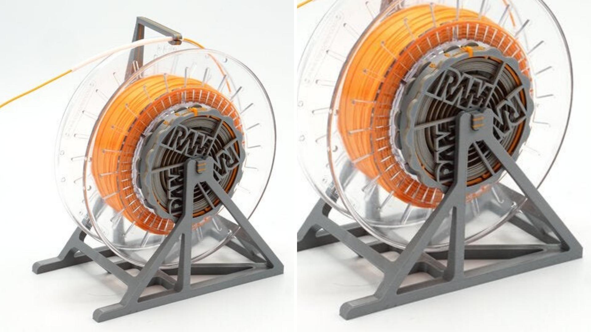 projetos legais e úteis para imprimir em 3D suporte para filamento