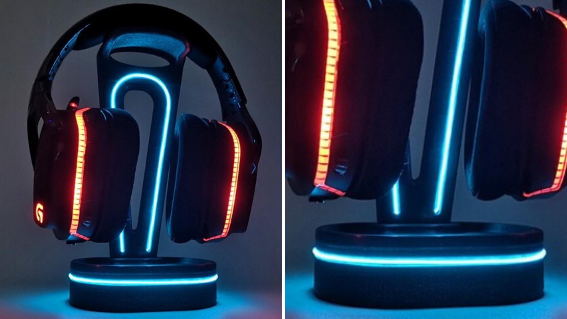 projetos legais e úteis para imprimir em 3D suporte para fones de ouvido
