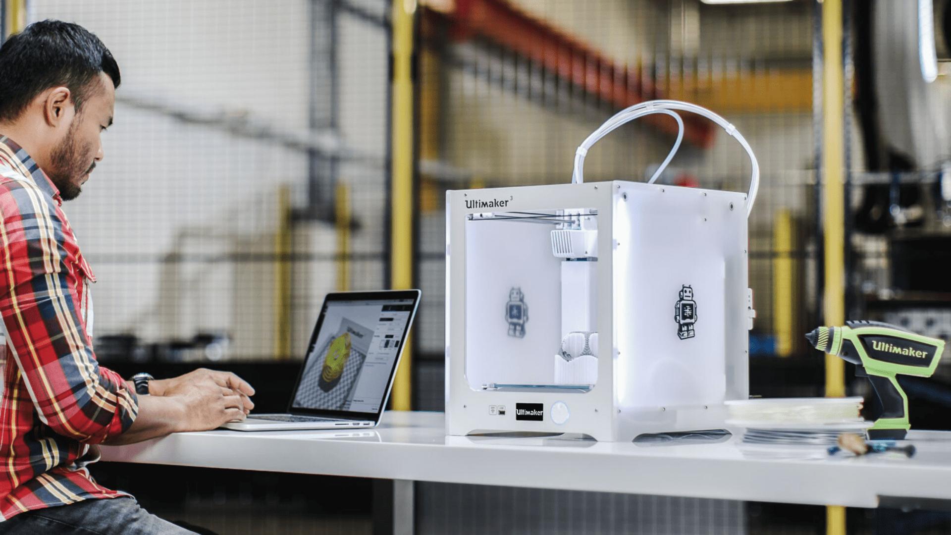 impressora 3D industrial vs impressora 3D desktop impressora 3d desktop