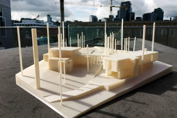 impressora 3d arquitetura