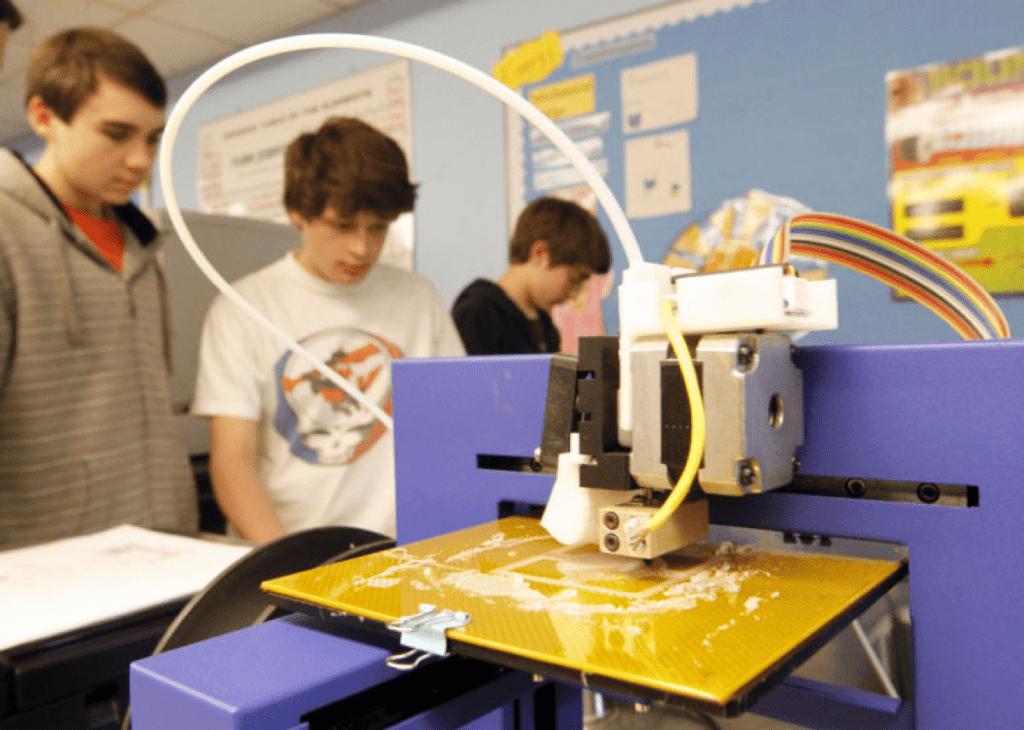 Impressoras 3D na sala de aula: como elas estão revolucionando o ensino