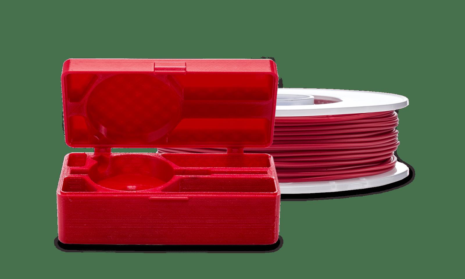 filamento tpu ultimaker vermelho